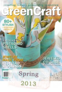 "Stampington & Company's ""GreenCraft"" Magazine Features Locker Hooked Bangle Bracelets"