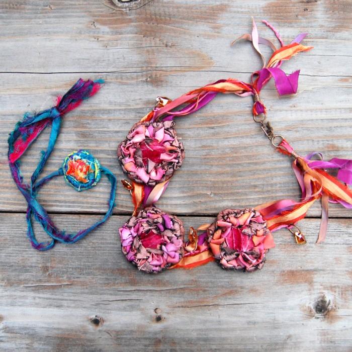 Locker Hooked Necklace designs