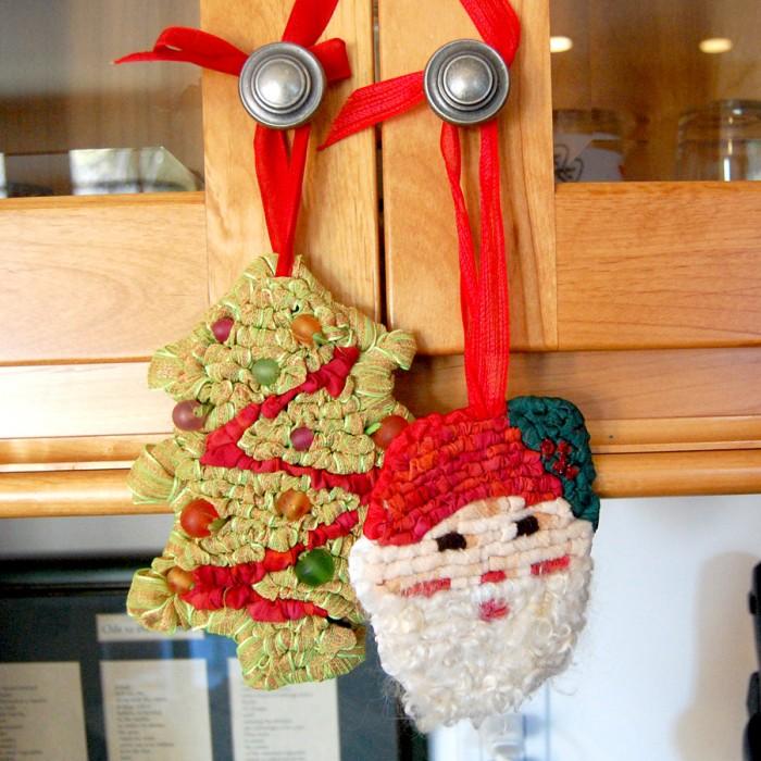 Santa & Xmas Tree Ornaments
