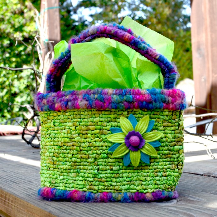 Locker Hooked Easter Basket