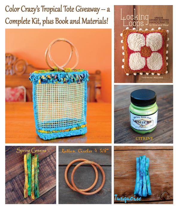 Color Crazy's Tropical Tote Kit & Locking Loops Giveaway