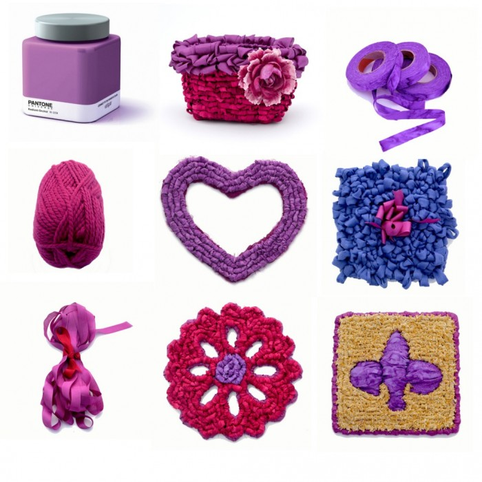 Radiant Orchid inspires Color Crazy Creations