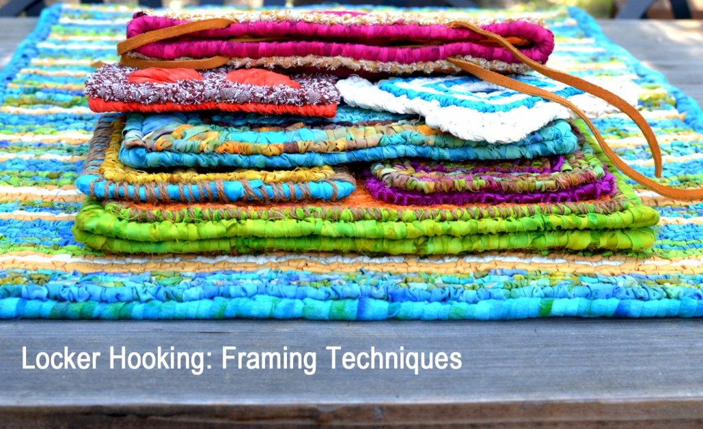 Locker Hooking: Techniques for Framing Edges