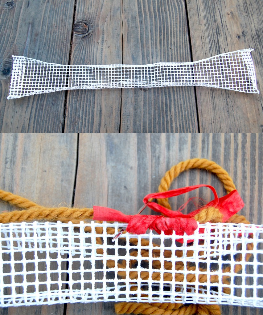 Creating Basket Handle