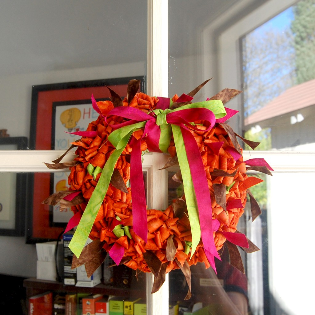 Mini Locker Hooked Door Wreath