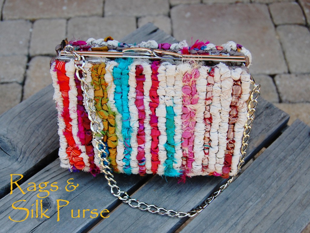 Rags & Silk Locker Hooked Purse