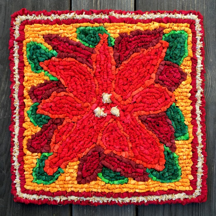 Color Crazy Poinsettia Mat Kit