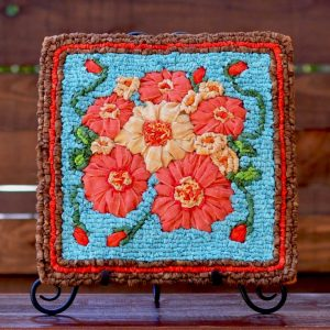 Spring Bouquet Locker Hooked Panel Kit